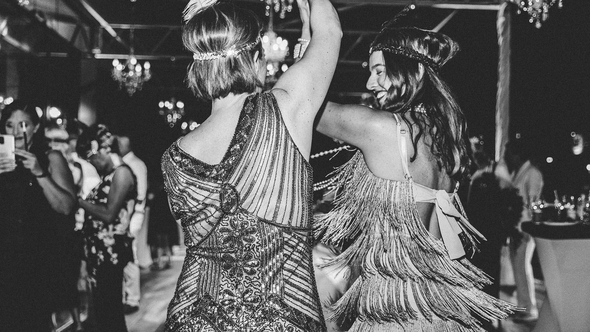 Dentelli Great Gatsby Party Flapper Moda